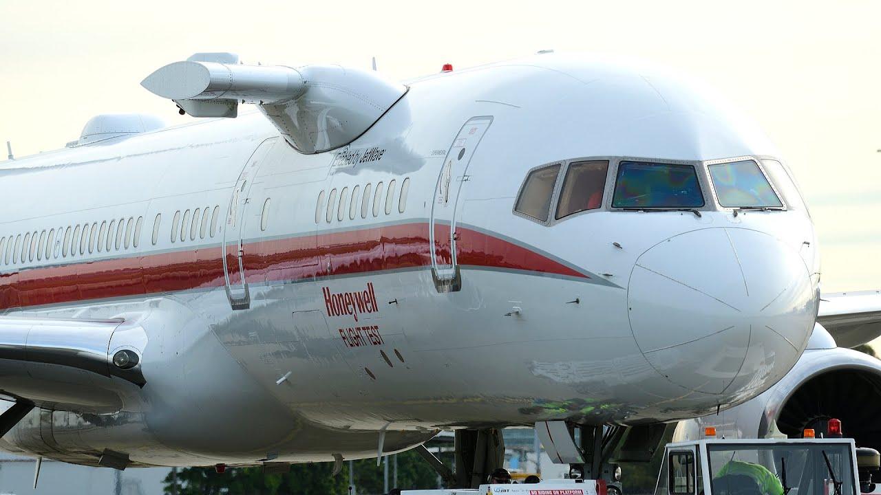Honeywell's Flying Tech Lab Is In Sydney, Testing Inflight Wi-Fi