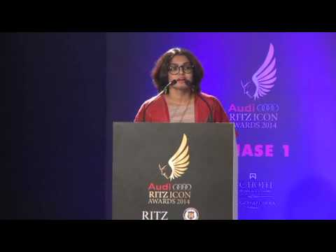 Parvathi Menon - AUDI RITZ ICON AWARDS (Chennai Edition) - 2014