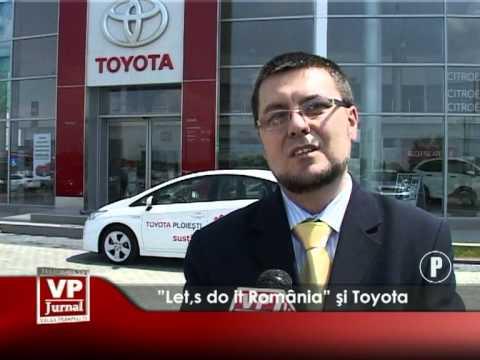 """Let,s do it România"" și Toyota"