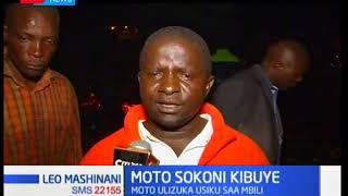 Moto wazuka na kuteketeza vibanda sokoni, Kisumu