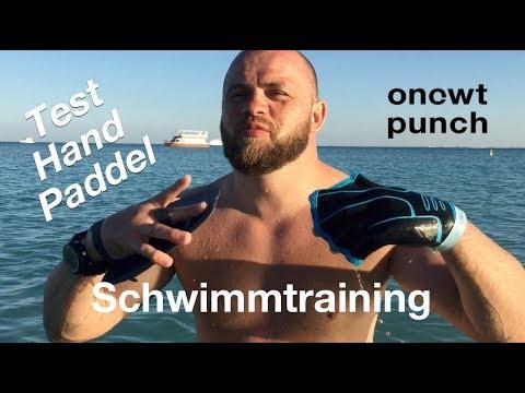Handpaddeln vergleich Test! Welche Art ist Besser? Fitnesstraining im Wasser. Urlaub Training!