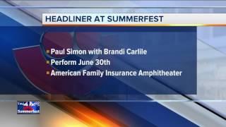 Paul Simon announced as Summerfest