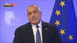 """Бойко Борисов пред """"Панорама"""": Винаги съм за една силна и обединена Европа"""
