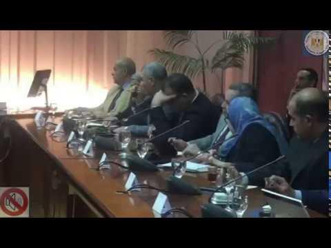 لقاء المهندس/طارق قابيل وزير التجارة والصناعة بعدد من رؤساء المجالس التصديرية