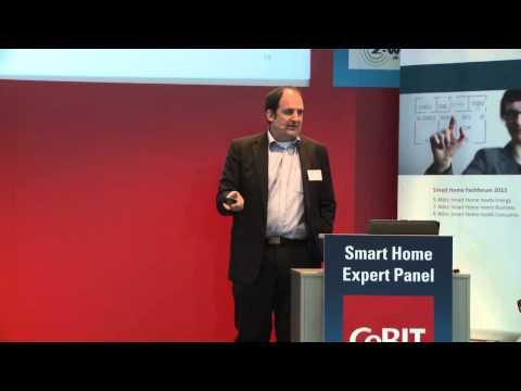Martin Vesper auf der CeBIT 2013 über Veränderung durch Vernetzung im Smart Home Video 2