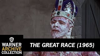 THE GREAT RACE: The Largest Pie Fight Ever Filmed!