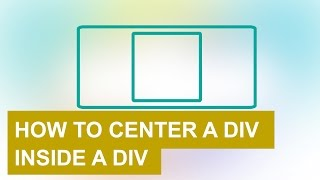 How to center a div inside a div with html and css