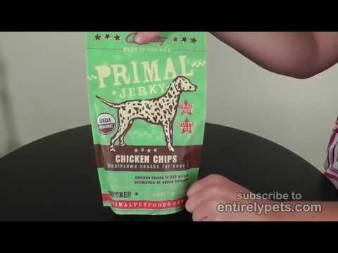 Primal Jerky Chicken Chips (3 oz) Video