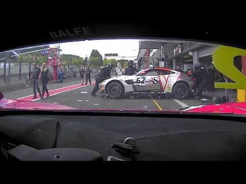 BRITISH GT - SPA - ONBOARD CAM