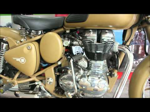 Royal Enfield-Classic Desert Storm EXCLUSIVE Video