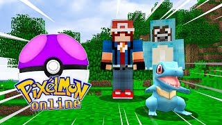 COMIENZA La NUEVA SERIE De PIXELMON!!! - PIXELMON ONLINE EP. 1 - Minecraft Serie De Mods