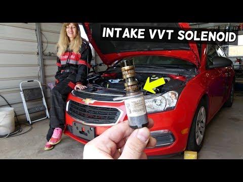 03 trailblazer Vvt solenoid replacement - смотреть онлайн на