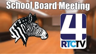 Rochester School Board Emergency Meeting - 7-8-19