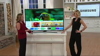 """Samsung 65"""" Curved 4K Ultra HD Smart TV with 2 Year Warranty on QVC"""