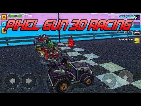 Pixel Gun 3D - Racing (New Mini Game)