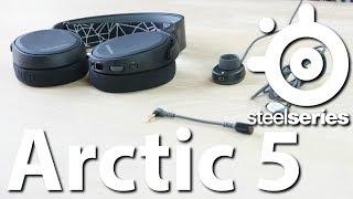Gaming-Headset SteelSeries Arctic 5 ausprobiert - Das selbsternannt beste Mikrofon der Gaming-Szene!