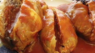 OUT OF THIS WORLD STUFFED CABBAGE RECIPE/GOLUMPKIES/CHERYL'S HOME COOKING/EPISODE 348