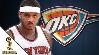 Carmelo Anthony Officially Traded To Oklahoma City Thunder!!! | NBA News