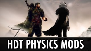 Skyrim Mods: HDT Physics - Cloaks, Gear, Hair, Tentacles