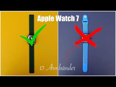 Apple Watch Series 7 - welche Armbänder passen farblich ? 13 ausprobiert !