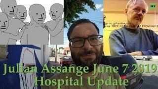 Julian Assange Updates - Julian Assange Hospitalized Update