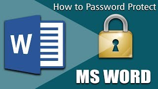 How to Lock and Unlock Microsoft word documents