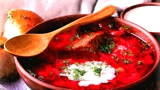 Как варить украинский борщ с мясом