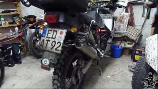 preview picture of video '[HD] HONDA XRV 750 Africa Twin - First cold start 2013 after hibernation'