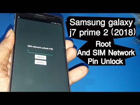 Samsung Sm G611F J7 prime 2 Network Pin Unlock & Root without Error