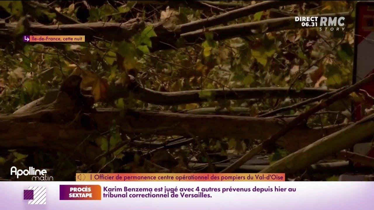 Tempête Aurore: une centaine d'interventions pour le centre opérationnel des pompiers du Val d'Oise