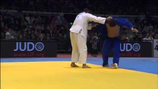 Judo Grand Prix Düsseldorf 2013: -90kg  BOZBAYEV, Islam (KAZ) -  GOGOTCHURI, Zviad (GEO)