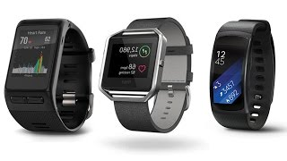 Top 5 Smartbands  Heart Rate,  Fitness Trackers 2016 / 2017