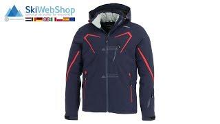 Icepeak, Nevin, ski jacket, men, classic red