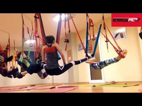 Ejercicios Hamaca De Yoga Columpio Aeroyoga Energy Fit