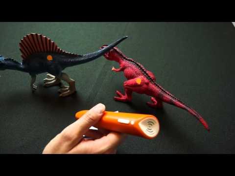 tiptoi - Spielfiguren - Dinosaurier: Gigantosaurus und Spinosaurus (groß) - Brettspielblog.net