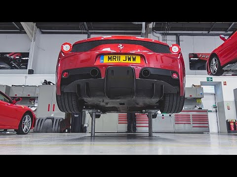 How It Cost Me Nothing To Service My Ferrari 458 Speciale!