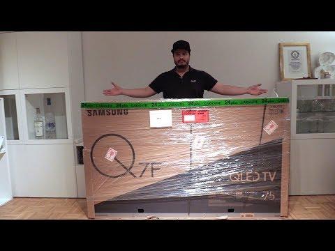 Samsung Q7F 75-Zoll QLED TV TESTBERICHT