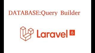 Laravel tutorial #13 Database Query Builder