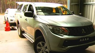 AAAA put aftermarket suspension up against ancaps 5Star rated Mitsubishi Triton stock