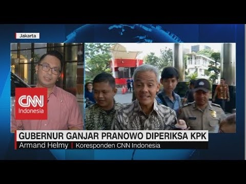 Ganjar Pranowo Diperiksa KPK sebagai Saksi Kasus E-KTP