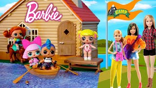 Barbie LOL Family Camp Adventures with Baby Goldie & Punk Boy - Full Movie
