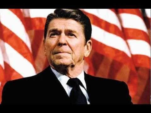 The Pledge of Allegiance put to Music Starring Ronald Reagan