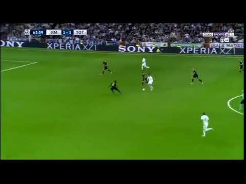 Ronaldo Crazy Run Destroys Spurs Defence! 2017