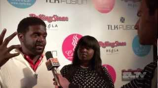 "Chikezie from ""American Idol"" chats with SLTV about his live tour"