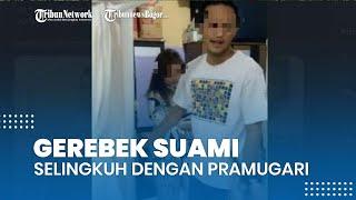 Viral Video Istri Sah Gerebek Suami yang Selingkuh dengan Pramugari, Ajak Keluarga hingga Satpam