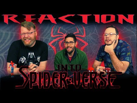 Spider-man: Into The Spider-verse - Official Teaser Trailer REACTION!!