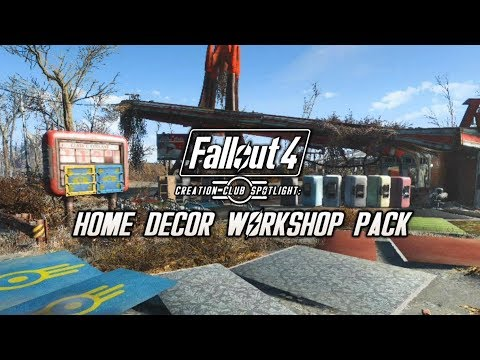 Creation club spotlight elianora s home decor workshop pack fallout 4