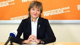Руководитель Inter Media Group Анна Безлюдная - интервью (1/3)