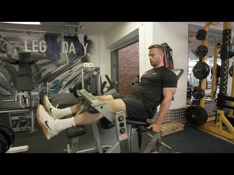 Plate Loaded Seated Hamstring Curl