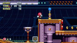 הטריילר של המשחק ''Sonic Mania's'' מציג את Knuckles ב-''Flying Battery Zone